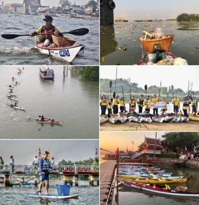COBRA INTERNATIONAL SUPPORTS MISSION TO CLEAN UP THAILAND'S CHAO PHRAYA RIVER WITH DONATION OF 10 LIGHTWEIGHT KAYAKS