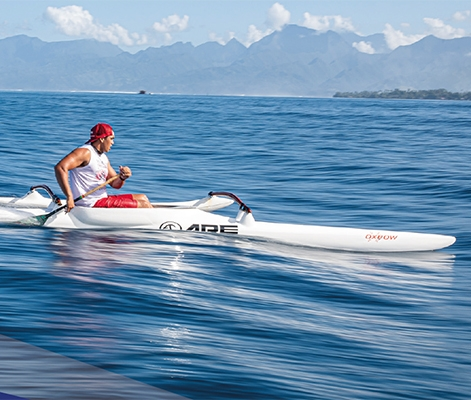 ARE Tahiti Composite Canoes